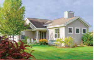 Cottage Home Rental at Glen at Hiland Meadows in Queensbury NY