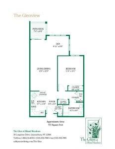 The Glenview floor plan