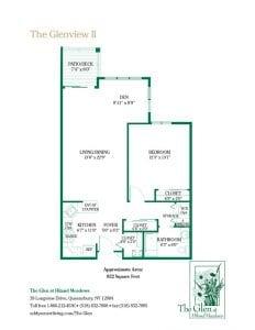 The Glenview II floor plan