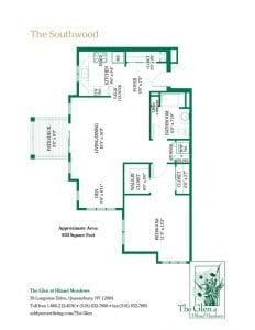 The Southwood floor plan