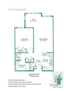 The Longwood floor plan