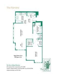 The Fairview floor plan