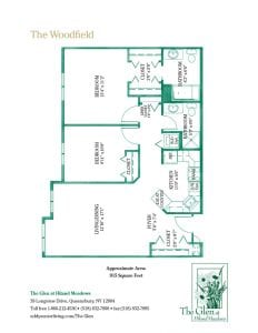 The Woodfield floor plan