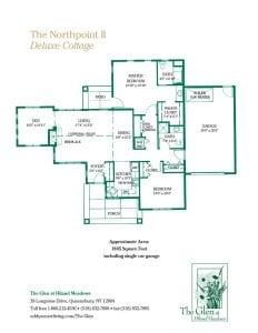The Northpoint II floor plan