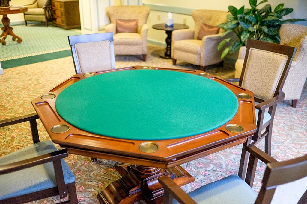 Hiland Meadows game table