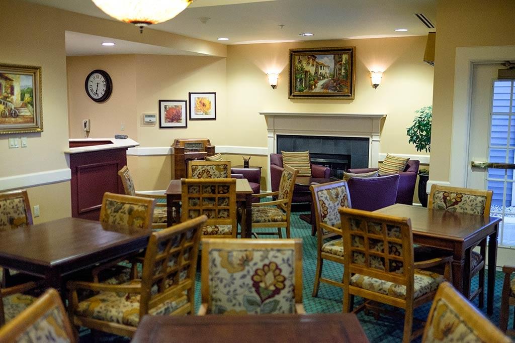 Hiland Meadows gathering room