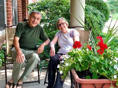residents of the Beverwyck senior living community