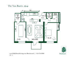 Van Buren Floor Plan