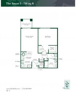 Ascot I Floor Plan