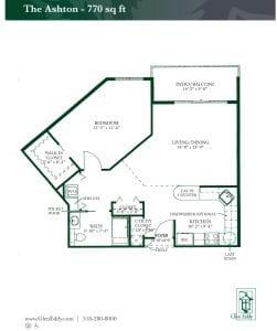 Ashton I Floor Plan