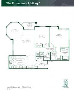 The Edmonton Floor Plan