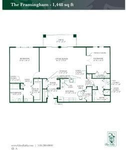 The Framingham Floor Plan