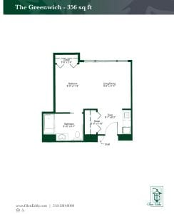 The Greenwich Floor Plan