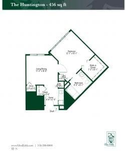 The Huntington Floor Plan