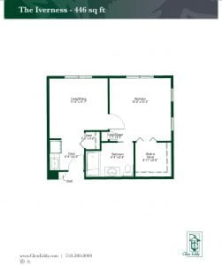 The Iverness Floor Plan