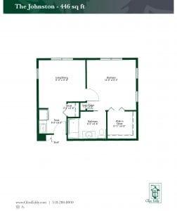 The Johnston Floor Plan
