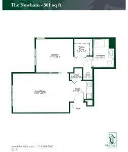 The Newham Floor Plan
