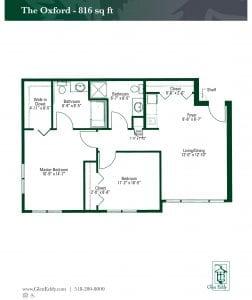 The Oxford Floor Plan