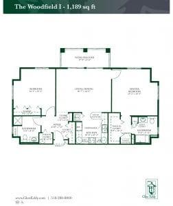 The Woodfield I Floor Plan