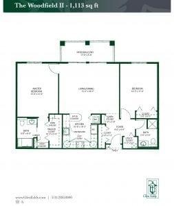 The Woodfield II Floor Plan