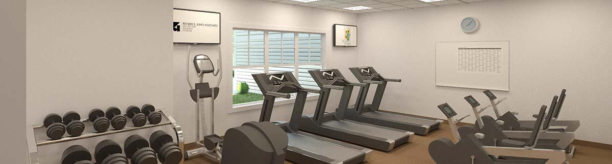 Gym render