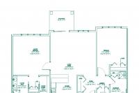 The Beekman Floor plan