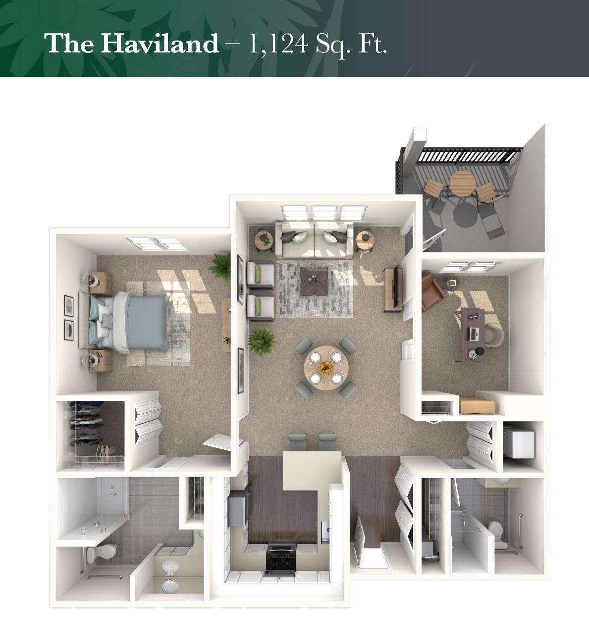 The Haviland rendering