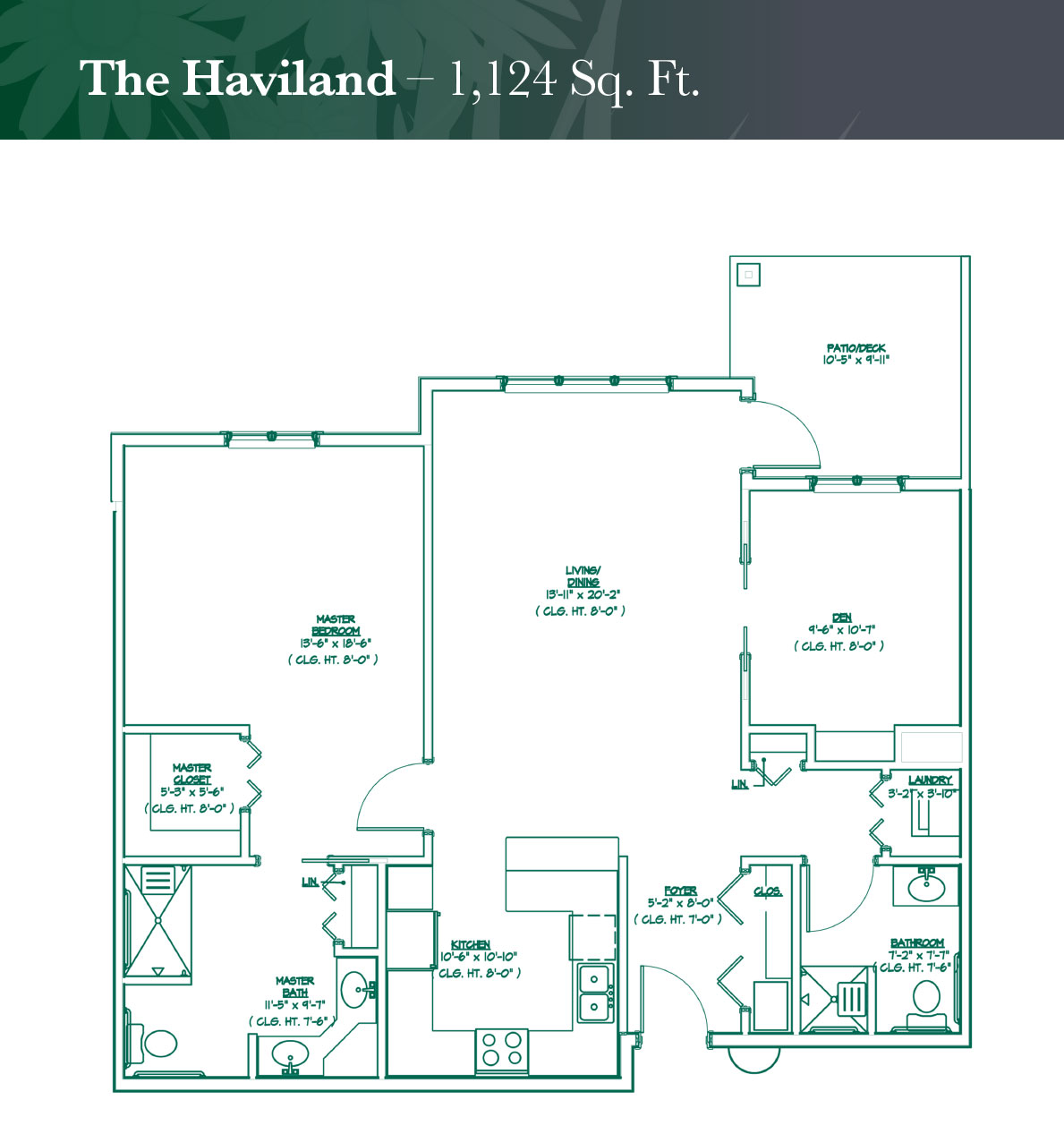 The Haviland floorplan