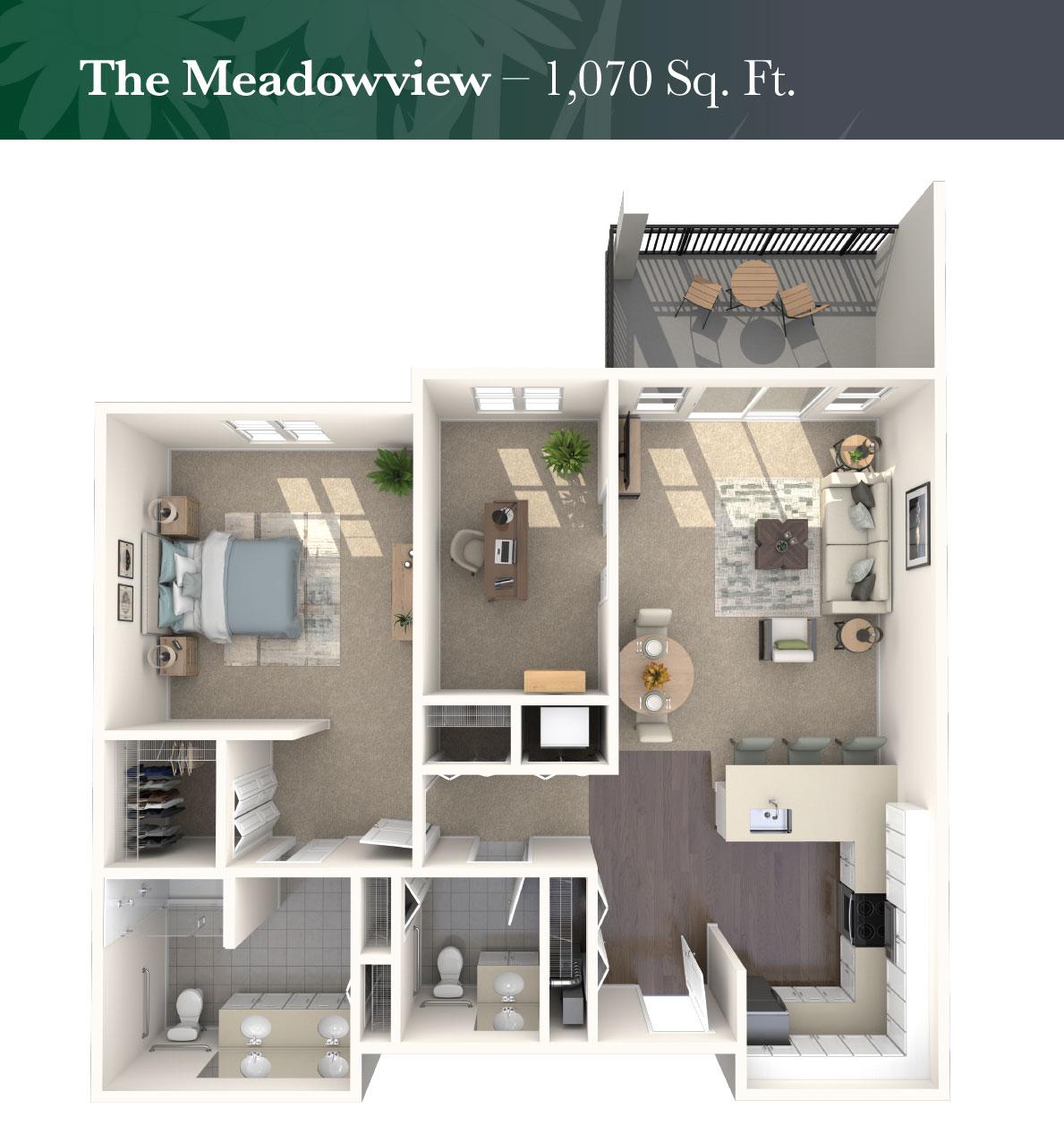 The Meadowview rendering