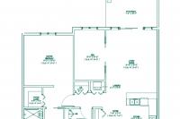 The Meadowview floorplan