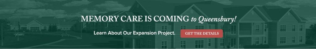 Memory Care Expansion banner